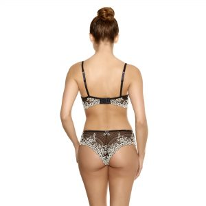 Embrace Lace Tanga -Black