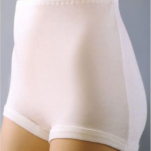 Cotton Full Briefs -White