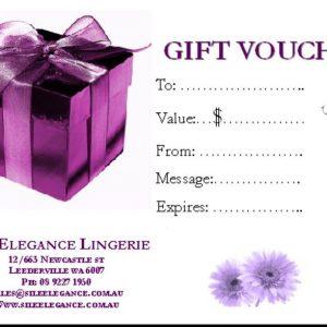 Silk Elegance Gift Voucher