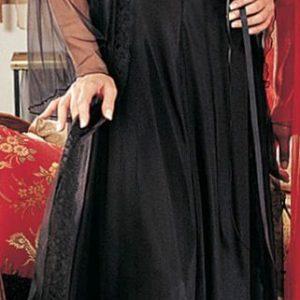 2 Piece Long Gown Set -Plus Size