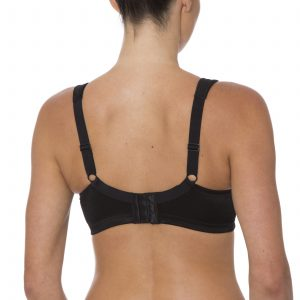 Endless Comfort Wirefree Bra -Black