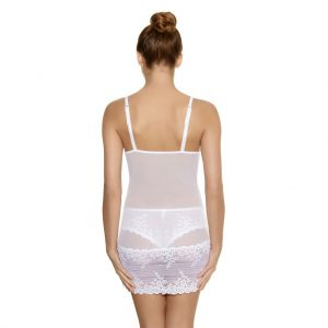 Embrace Lace Chemise -White