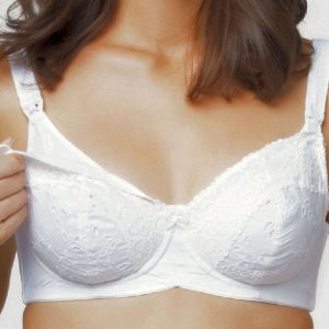 White Chocolate Nursing Bra